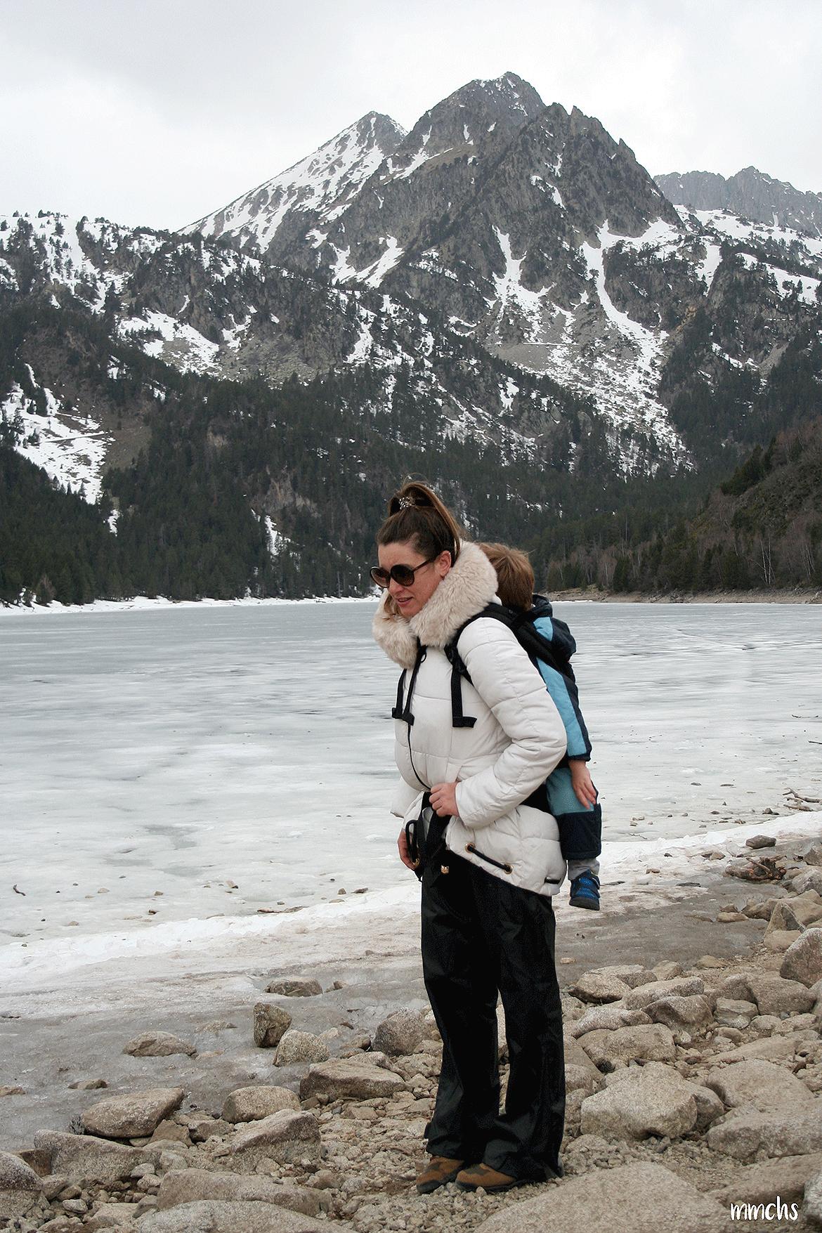 Lago San Mauricio en Aigüestortes, Pirineos.