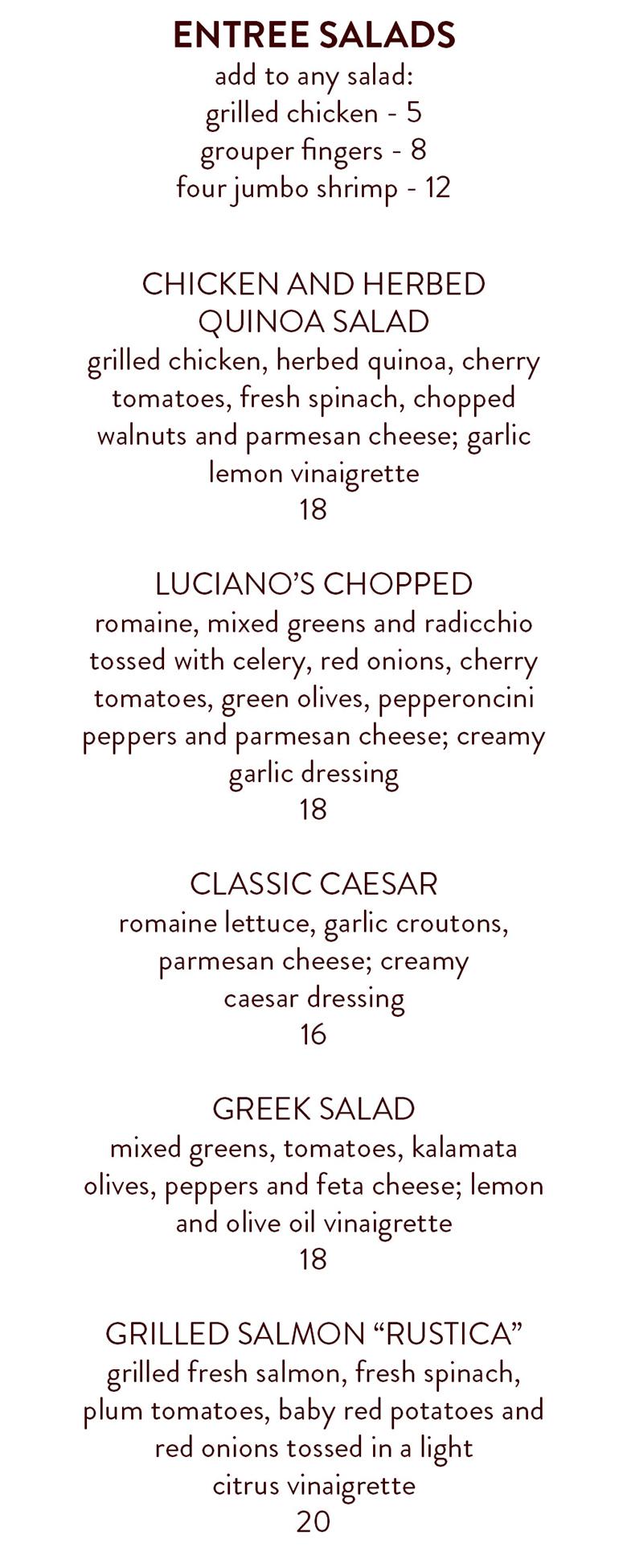 LOC Lunch - food - 2019-salads
