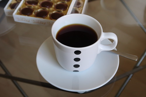 Kaffee mit Toffifee dazu