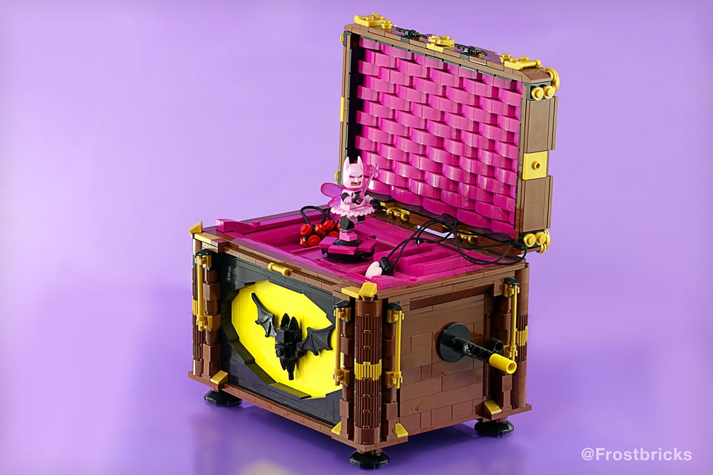 Bat Music Box