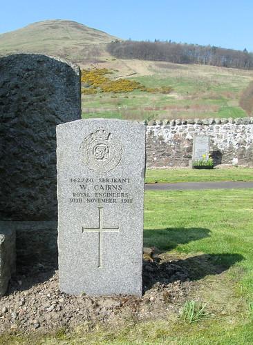War Grave Muckhart