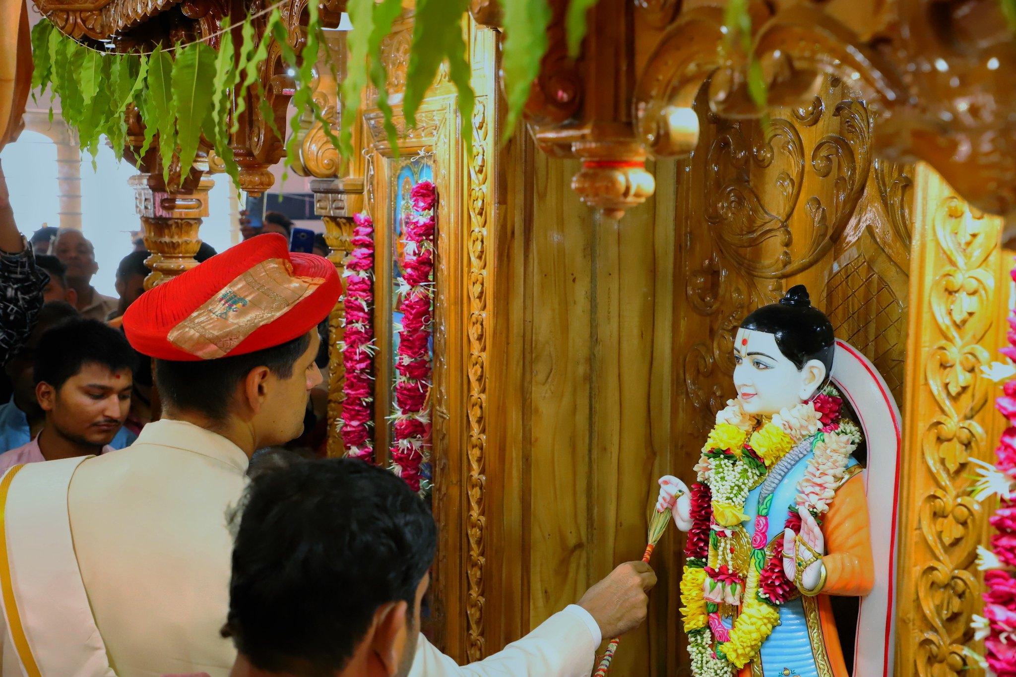 Murti Prathishta Ladies Mandir - Lunawada Mandir