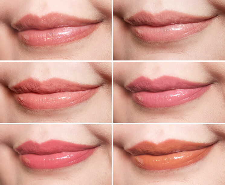 rodial collagen boost lip lacquer swatches (2)