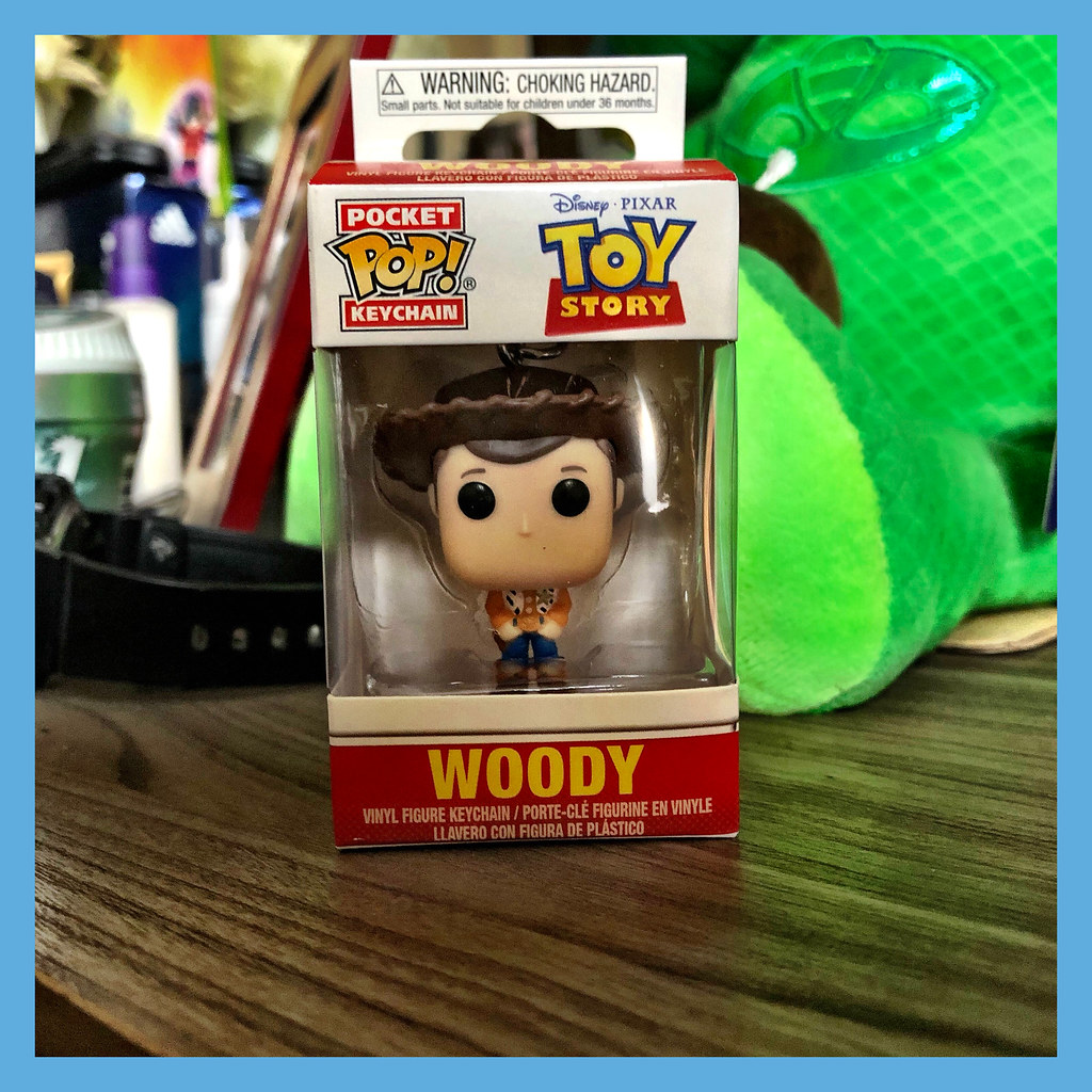 Pocket Pop Toy Story Woody Llavero Funko