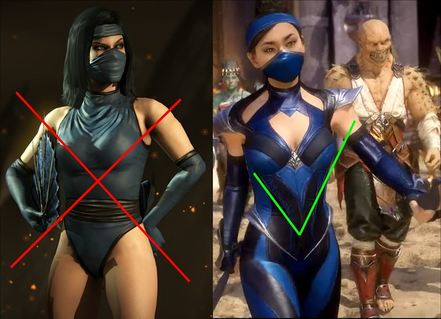 Mortal Kombat 11 - Kitana vs Kitana