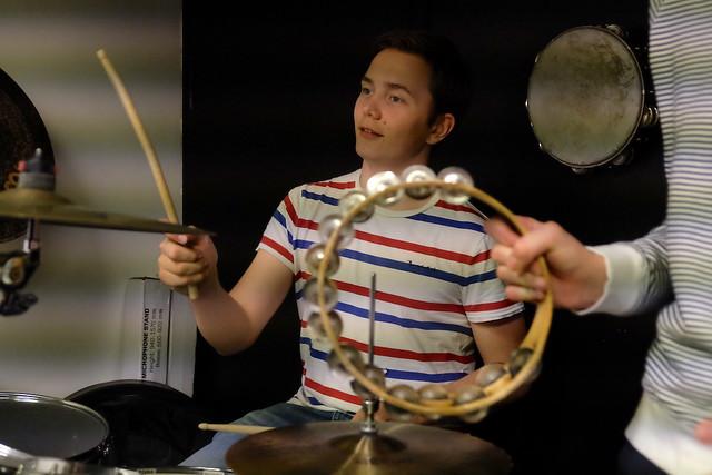 Emil Lundgren, trummor