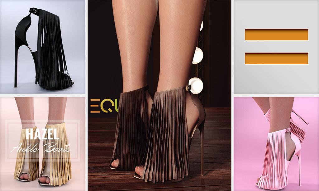 EQUAL - Hazel Ankle Boots - TeleportHub.com Live!
