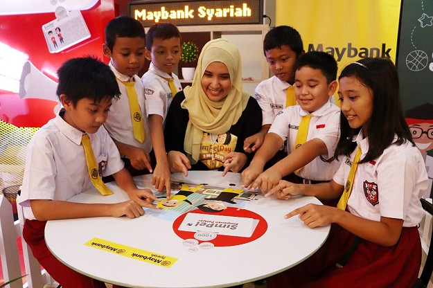 "Maybank Indonesia Dukung Program Inklusi Keuangan ""SimPel Day 2019"""