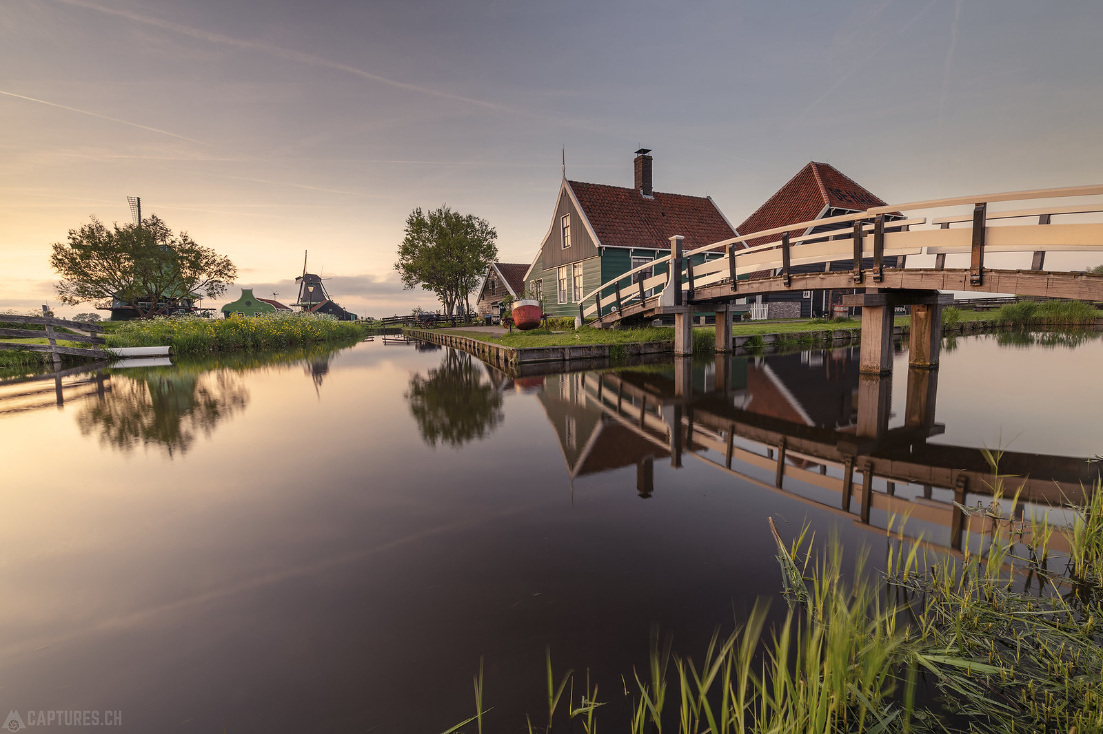 Sunset - Zaanse Schans