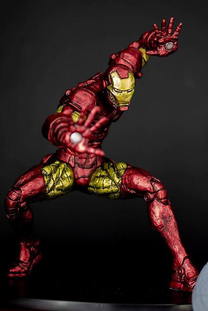 BANPRESTO 『漫威超人技畫系列』鋼鐵人/美國隊長!MARVEL 超人技画 IRON MAN / CAPTAIN AMERICA