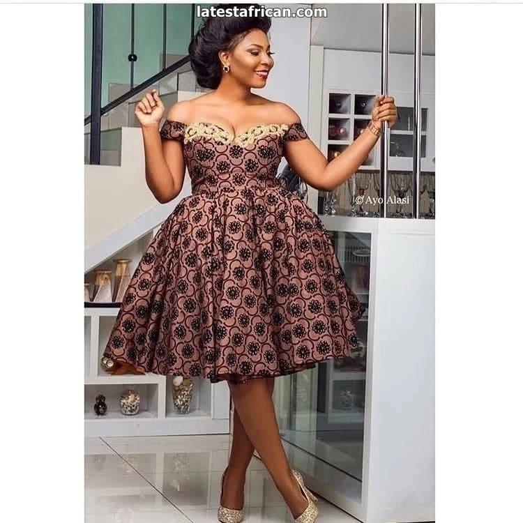 African print maxi dresses 2019