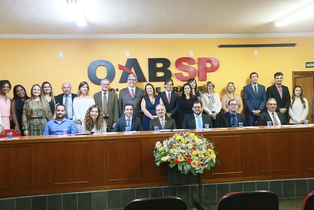 30.04.2019 - Cerimônia de Posse da Subseção de Araras