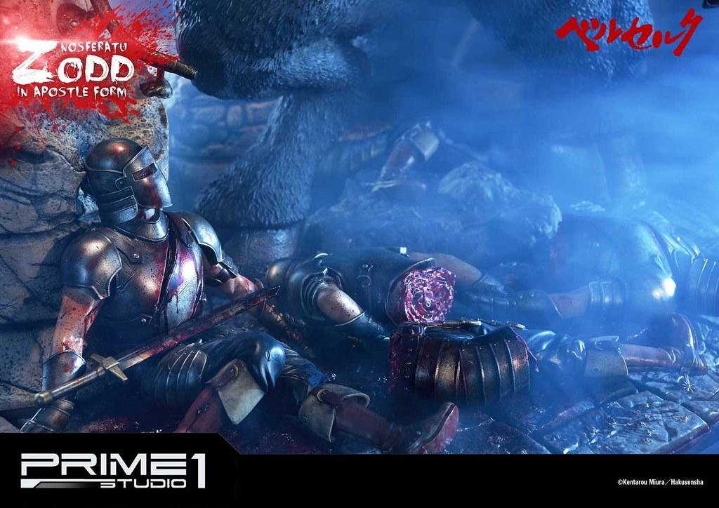 戰場上的不死傳說以黑色巨獸之姿再歸來! Prime 1 Studio《烙印勇士》不死的索特(不死のゾッド) 使徒形態 無比例全身雕像作品