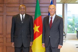 WIPO Director General Meets Cameroon's Minister of Arts and Culture   by WIPO   OMPI