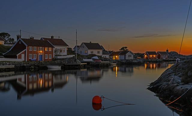 Ulvøysund, Høvåg, Norway