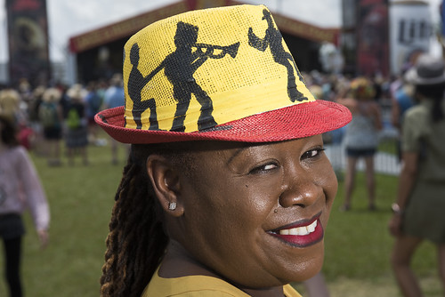 Hat at Jazz Fest day 5 on May 2, 2019. Photo by Ryan Hodgson-Rigsbee RHRphoto.com