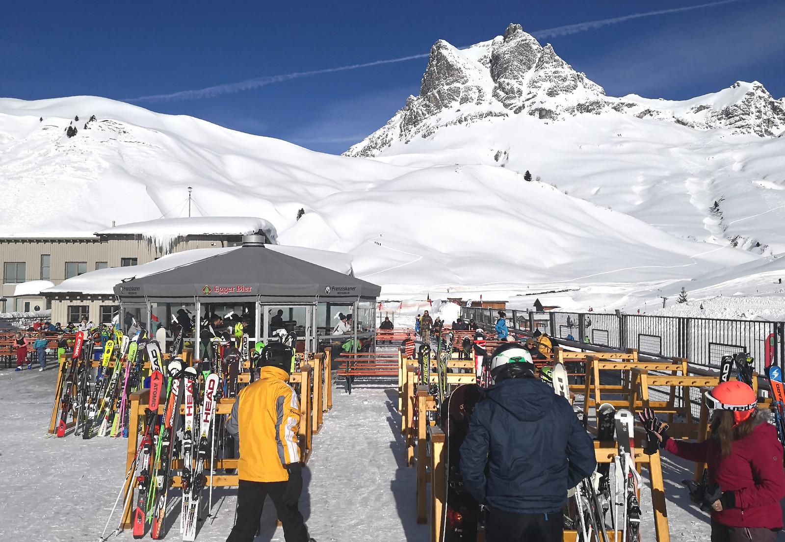 Aprés-ski venue at Salober