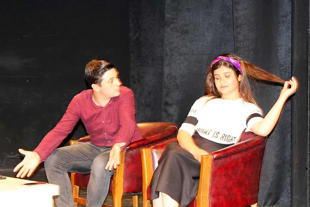 Alanya'da Liseler Arası Tiyatro Şenliği başladı