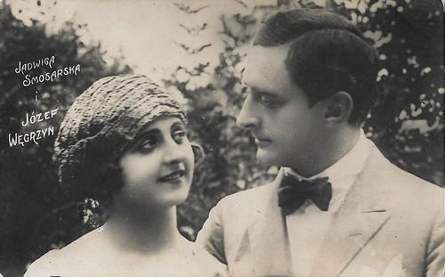 Jadwiga Smosarska and Józef Wegrzyn