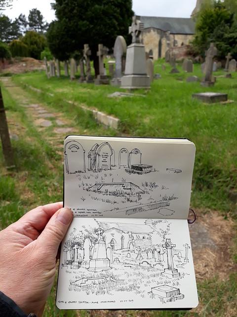 St Stephen's churchyard, Acomb, York