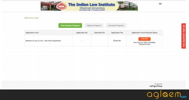 ILICAT  Application Form