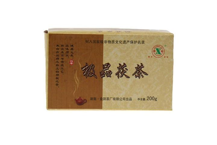 """2011 XiangYi """"Ji Pin Fu Cha"""" (Super Grade Fucha) Brick 200g Hunan"""