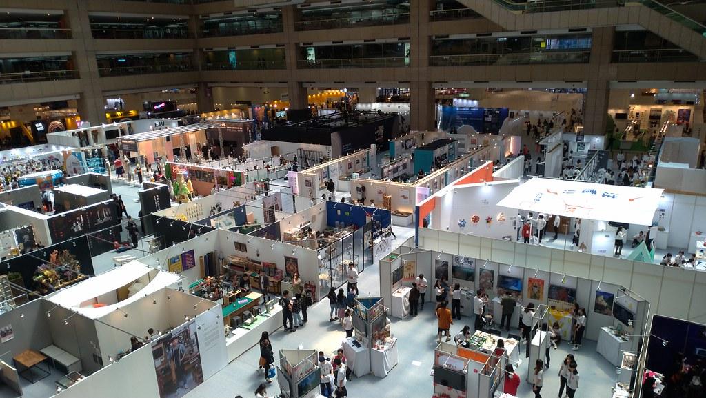 一年一度的新一代設計展於世貿盛大開幕,有1萬名新銳設計師參與。孫文臨攝