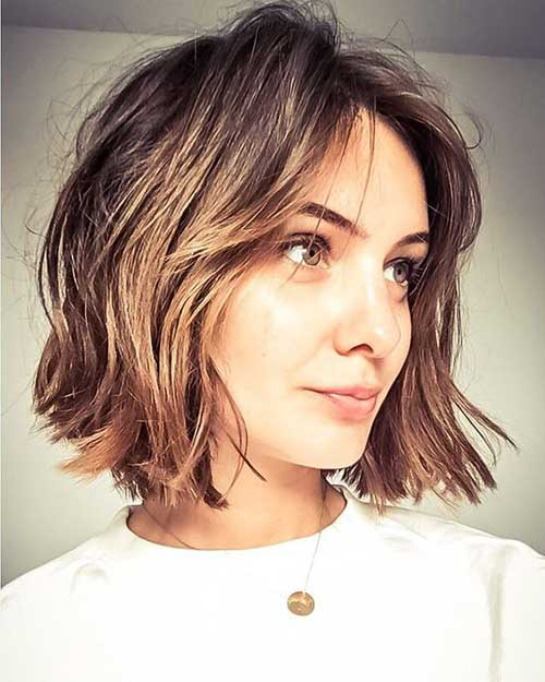 Layered Hairstyles With Bangs 2019 58