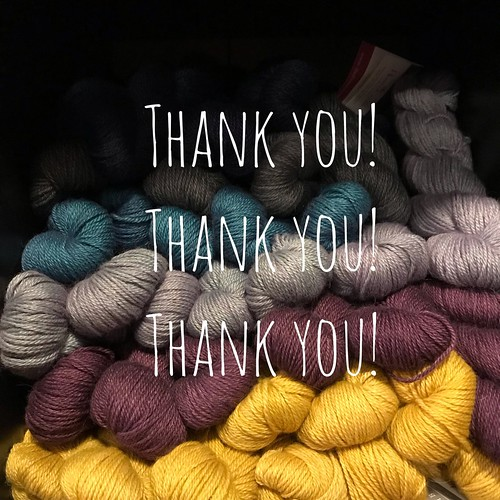 Thank you to everyone who came out and made Local Yarn Shop Day such a huge success and an awesome yarn love party! A special thank you shout out to Kathy for all her help!