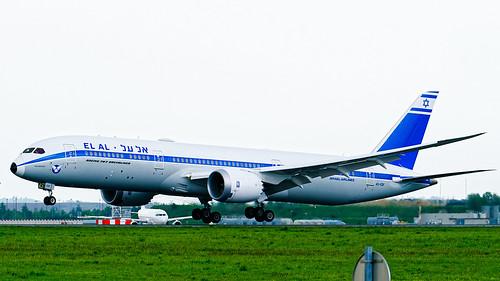 B787-9 El Al Israel Airlines (Retro Livery) 4X-EDF CDG 2019 05 03 (24)_DxO-1 G P | by eric_aubertin