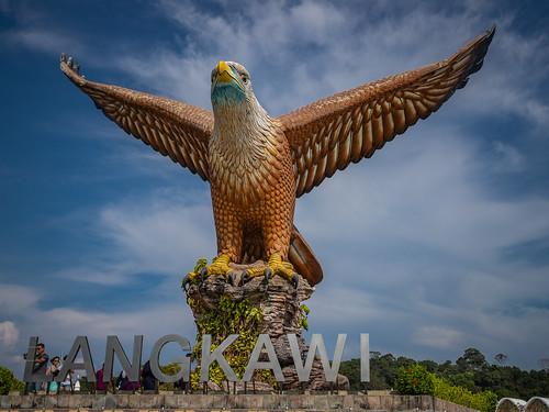 langkawi perlis malaysia eagle square