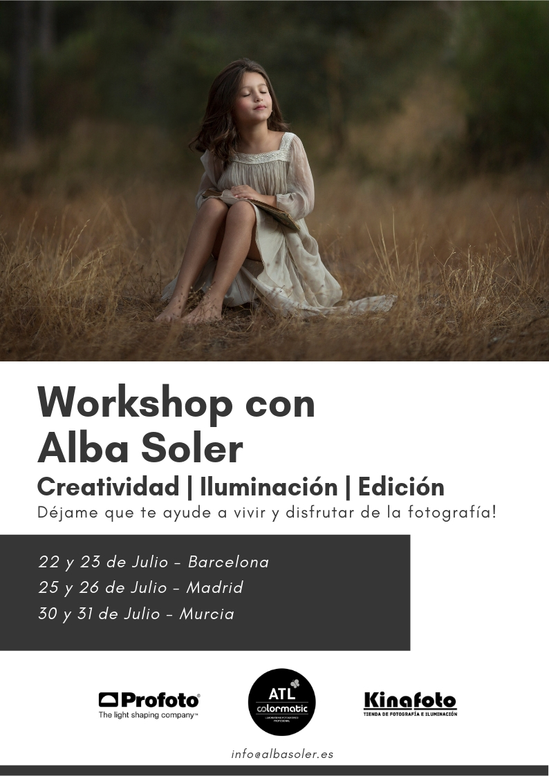 workshop de fotografía fine art en exterior