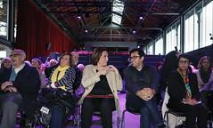Vie, 03/05/2019 - 17:13 - Barcelona 03.05.2019 Homenatge a les dones de Ravensbruck, celebrat a la sala Moragas del Born Centre Cultural