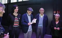 Vie, 03/05/2019 - 16:59 - Barcelona 03.05.2019 Homenatge a les dones de Ravensbruck, celebrat a la sala Moragas del Born Centre Cultural