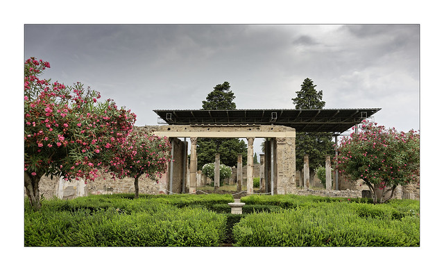 Les jardins de Pompéi