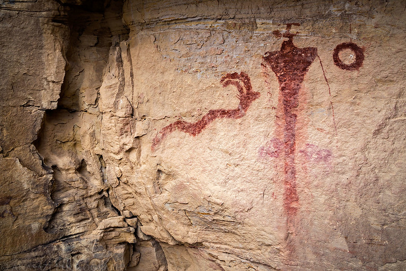 Horned Serpent Pictographs
