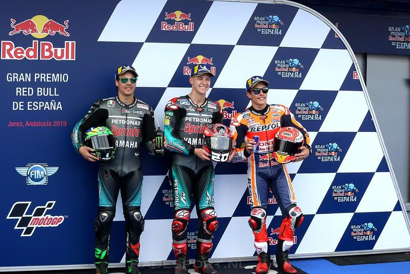 MotoGP kwalificatie top 3