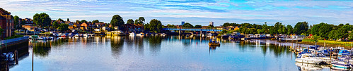view forthemanwhohaseverything landscape bridge gb reflection transporttransportinfrastructure roads panorama unitedkingdom ships boats britain river southampton england hampshire greatbritain europe riveritchen jamespdeansphotography uk digitaldownloadsforlicence