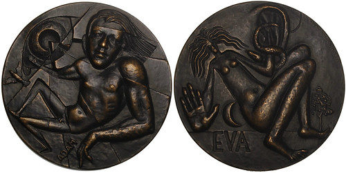 Adam and Eve Bronze Medal