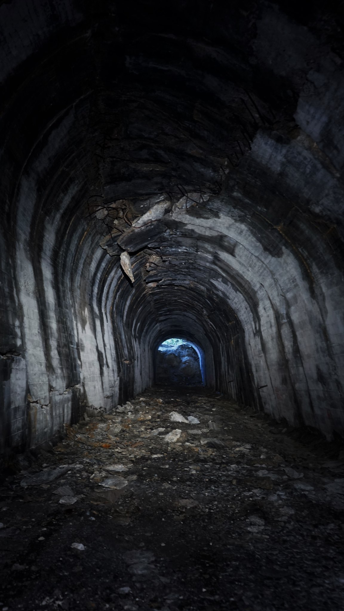 Abandoned South Island tunnel, New Zealand, Urbex Central NZ
