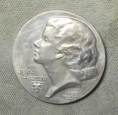 1932 Jean Harlow Medal By Adam Pietz obverse