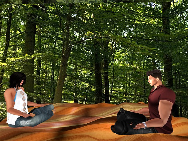 Forest Meditation Reveals A Future Well Lived