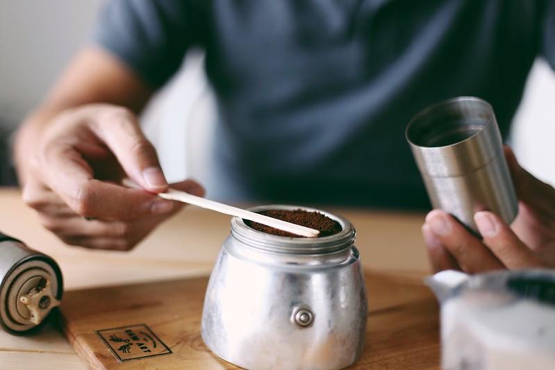 Pha cà phê với Moka Pot (2)
