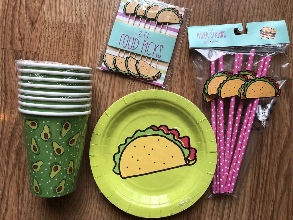 Target's Bullseyes Playground foodie paper goods