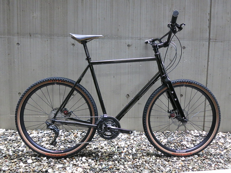 Niner RLT9 Steel MB Flat 650
