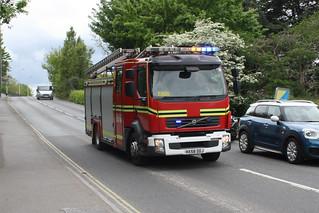 Hampshire Fire & Rescue HX58DDJ