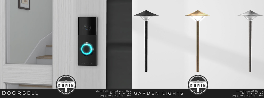 Doorbell & Garden Lights @ TMD
