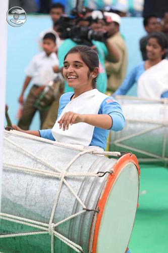Traditional item by Sewa Dal volunteers