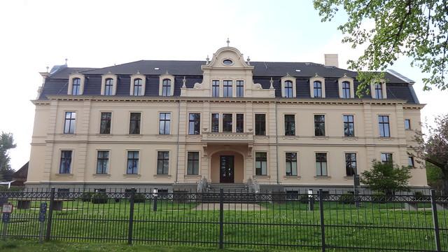 1893/95 Ribbeck neobarockes Herrenhaus derer von Ribbeck Theodor-Fontane-Straße 10 in 14641