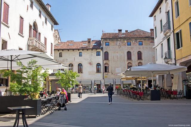 Piazzotto Montevecchio, Bassano del Grappa